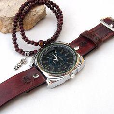 mens skeleton wrist watch mens watch bracelet set skeleton men s leather watch wrist watch watch bracelet set mens by jullyet