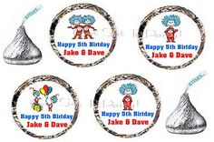 thing 1 and thing 2 birthday party supplies | ... Cards & Party Supply Party Supplies Favors & Party Bag Fillers