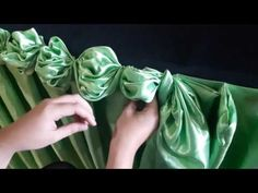 Using a roll of toilet paper and other common material in you home, you can create different types of paper flowers which you can use as decoration for diffe. Swags And Tails, Pipe And Drape, Altar Decorations, Diy Wedding Decorations, Event Decor, Wedding Table, Paper Flowers, Flower Arrangements, Diy And Crafts