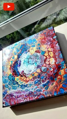 Acrylic Pouring Techniques, Acrylic Pouring Art, Acrylic Art, Epoxy Table Top, Diy Table Top, Fluid Acrylics, Pour Painting, Types Of Art, Amazing Art