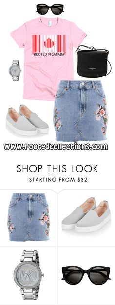 """""""rooted collections - OOTD #59"""" by rootedcollections on Polyvore featuring Topshop, Michael Kors, Lancaster, ootd and canada"""