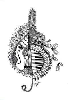 1000+ images about Music Coloring Pages for Adults on ...