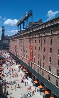 Camden Yards - Baltimore, MD -         Repinned by Chesapeake College Adult Ed. We offer free classes on the Eastern Shore of MD to help you earn your GED - H.S. Diploma or Learn English (ESL) .   For GED classes contact Danielle Thomas 410-829-6043 dthomas@chesapeke.edu  For ESL classes contact Karen Luceti - 410-443-1163  Kluceti@chesapeake.edu .  www.chesapeake.edu
