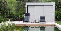 Kubus I - das moderne Gartenhaus für Augenmenschen.