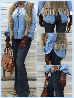 Jeans op jeans! Love it!