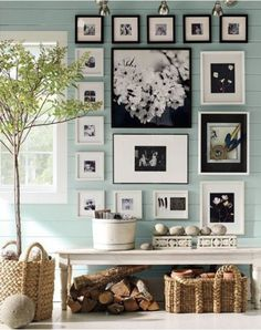 beautiful seafoam green wall