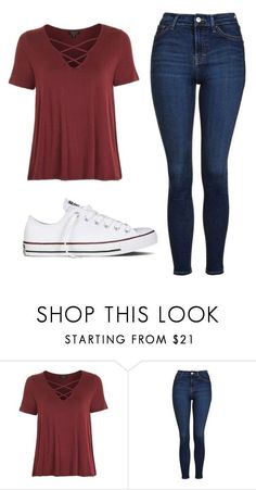 """Untitled #528"" by cuteskyiscute on Polyvore featuring Topshop and Converse #fitnessoutfit"