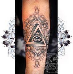 28 Best Geometric Eye Tattoos Images Eye Tattoos Geometric Eye