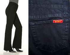 Not Your Daughter's Jeans NYDJ Bootcut Stretch #P403BW 4 Petite Black USA LKNEW #NYDJ #BootCut