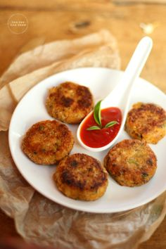 Fish Cutlet | Fish Tikki | Indian Style Fish Cakes | Gluten Free Fish Cutlets | Fish Cutlets With And Without Bread Crumbs