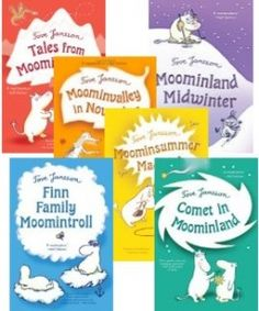 The Moomin Books - delightful series of books by Tove Jansson