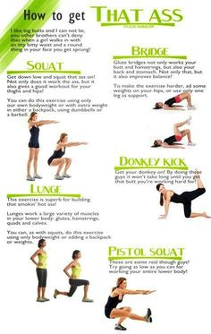 Butt Work Out http://GetBestGuides.com/buttbig/ #buttworkout