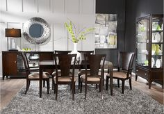 Metropolitan Place 5 Pc Dining Room  from Dining Room Sets Furniture