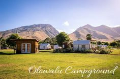 olowalu campground hawaii maui