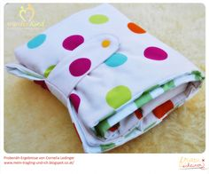 Wickeltasche in zwei Größen Ebook, Schnittmuster und Nähanleitung für eine Babyausstattung Wickeln, nähen, Baby, Windeltasche selbermachen
