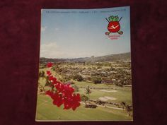 Hawaiian 1971 Open Golf Program **RARE**