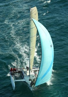 An article by Tony Grainger discussing the design aspects of the trimaran platform and hull shapes with particular relevance to trailerable trimarans and other small high performance trimarans. Hull Boat, Air Space, Boat Building, Catamaran, Sailboat, Sailing, Boats, Yachts, How To Make