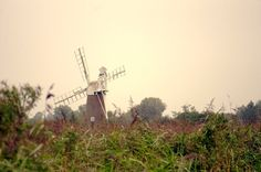 landscape nature photography Norfolk broads windmill by Suzannasi