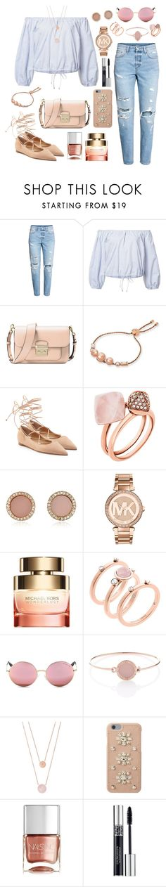 """""""😊"""" by jojogena ❤ liked on Polyvore featuring beauty, Sea, New York, Michael Kors, MICHAEL Michael Kors, Nails Inc. and Christian Dior"""