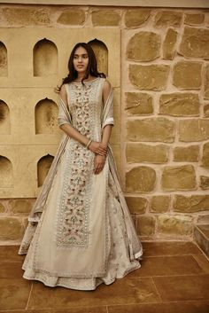 Alchemy by Anita Dongre Spring / Summer 2017 - Indian outfits - # Indian Wedding Outfits, Pakistani Outfits, Indian Outfits, Dress Indian Style, Indian Dresses, Indian Attire, Indian Ethnic Wear, Anarkali, Lehenga Choli