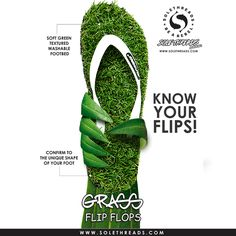 sole threads grass slippers