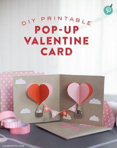 Pop up valentine
