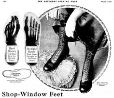 Educator Shoes by Don O'Brien March 6, 1920 Saturday Evening Post