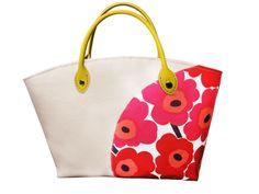 マリメッコバッグ。手づくりレシピをご紹介しています。そーいんぐ.comは、手づくりファンのための情報サイトです。 Bag Patterns To Sew, Sewing Patterns, Marimekko Bag, Fabric Bags, Red Fashion, Floral Embroidery, Pink Purple, Sewing Crafts, Fashion Accessories