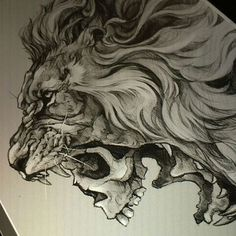 Here is a cool sketch from the talented @elvintattoo repost from @worldofpencils