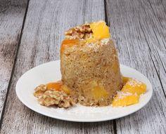 Mugcake mango en noten, 3 minuten klaar - De keuken van Ursie Mango, Smoothies, French Toast, Fruit, Breakfast, Desserts, Food, Manga, Smoothie