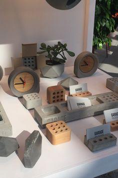 Concrete Crafts, Concrete Wood, Concrete Projects, Concrete Design, Wood Crafts, Wall Mounted Shoe Storage, Concrete Light, Concrete Jewelry, Office Furniture Design