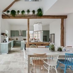 Traditional country estate redesigned in a contemporary way in Chaumot by Gommez-Vaëz Appartement Design, Barn Renovation, Country Estate, Big Houses, Diy Room Decor, Home Decor, My Dream Home, Life Hacks, House Design