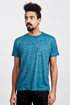 Patrik Ervell - Printed T-shirt Marine Granite   TRÈS BIEN SHOP