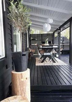 Patio Pergola, Backyard Privacy, Pergola Kits, Backyard Patio, Pergola Ideas, Pergola Screens, Timber Pergola, Cement Patio, Steel Pergola