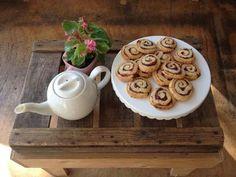 Cranberry-swirl koekjes bij het GEEFcafé op Katendrecht