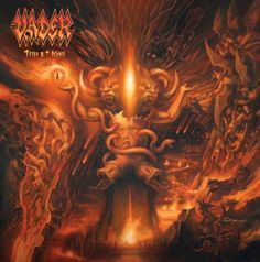 """Death metal masters Vader are streaming a tune from their new album (check it bellow). The track is called """"Triumph of Death"""" and is part. Death Metal, Heavy Metal Art, Heavy Metal Bands, Black Metal, Savage, Reign In Blood, Kerry King, Album Stream, Extreme Metal"""