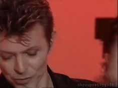 My Bowie Gifs — Seriously, look how beautiful he is!!