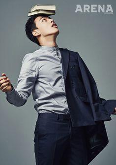 Yeo Jin Goo - Arena Homme Plus Magazine February Issue '15