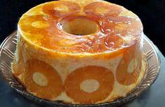 pudim_ananas_capa Pudding Pies, Pudding Recipes, Cake Recipes, Dessert Recipes, Flan Recipe, Tiramisu Recipe, Portuguese Desserts, Portuguese Recipes, Cakes And More