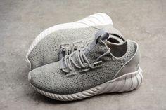superior quality 33ab9 a9962 Mens adidas Tubular Doom Sock Primeknit Grey White Grey CQ0684-2 Yeezy  Boost, Adidas
