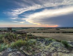 "MAY ""Sunset at Coronado Heights"" taken in Saline Co., KS courtesy of Jeff Heidel"