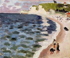 Henri Matisse - High Tide, 1920