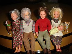 sunshine family dolls- I have a few of these!