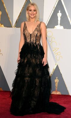 Pin for Later: Jennifer Lawrence Had Jaws Firmly on the Floor With Her Truly Stunning Oscars Appearance