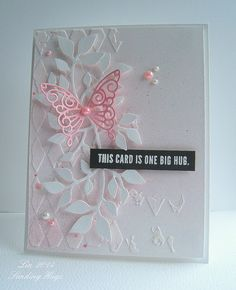 Stenciled Day 3, CASEing Debby by quilterlin, via Flickr