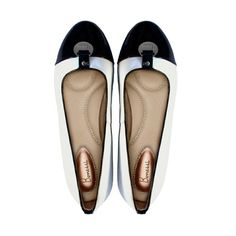 The sophisticated Lily Bonessi Ballerinas in monochrome with silver embellishment.  http://bonessiballerinas.com/ballerinas/Lily  #BonessiBallerinas #LondonDesigners #Bonessi #ComfortableShoes #Comfort #FlatShoes #London #Shoes #Fashion #Outfit #Shopping #Beautiful #Style #LuxuryFashion #LeatherShoes #Luxury