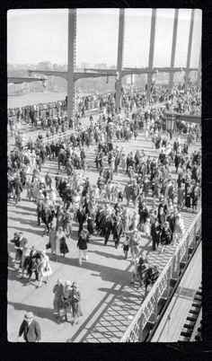 Harold Cazneaux - opening day of the Sydney Harbour Bridge 19 March 1932 v Australian Photography, Australian Art, Sydney City, Sydney Harbour Bridge, Great Photos, Old Photos, Bronte Beach, Modern History, Historical Pictures