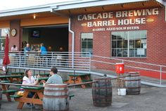 Cascade Brewing Barrel House, sour beer brewery   Portland, Oregon