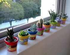 100 beautiful DIY pots and containers garden ideas – Trend NB – Cactus Succulents In Containers, Cacti And Succulents, Container Plants, Cactus Plants, Container Gardening, Succulent Pots, Terrarium Cactus, Backyard Garden Landscape, Modern Backyard