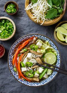 SIMPLE VEGETARIAN PHO... Hearty and delicious, pho for life!